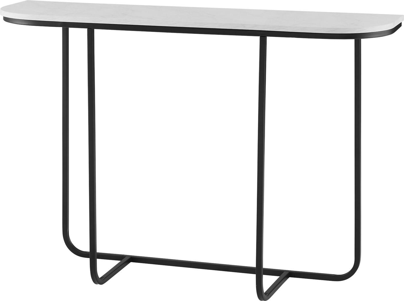 Picotte White Sofa Table