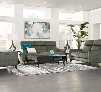 Pierceton Gray 2 Pc Living Room with Reclining Sofa