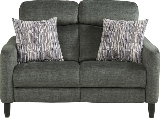 Pierceton Gray Loveseat