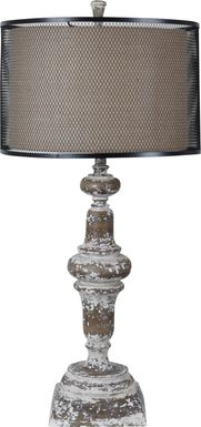 Pinebrook Road Brown Lamp