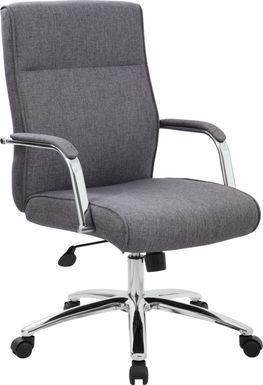 Piney Path Gray Desk Chair