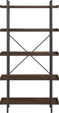 Piper Walnut Bookcase