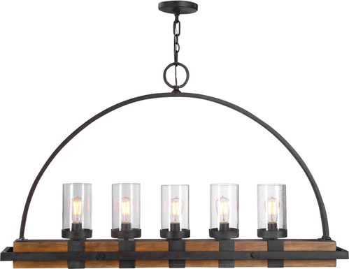 Piping Rock Bronze Chandelier