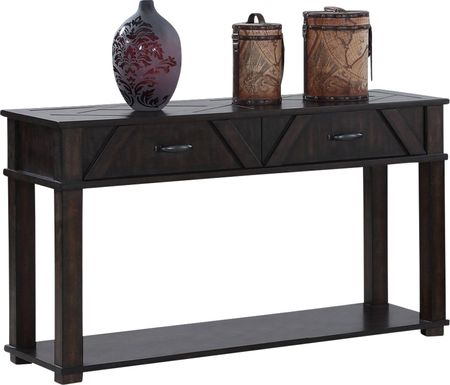 Pizzaro Brown Sofa Table