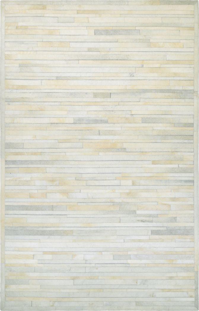 Plank Ivory 5'6 x 8' Rug
