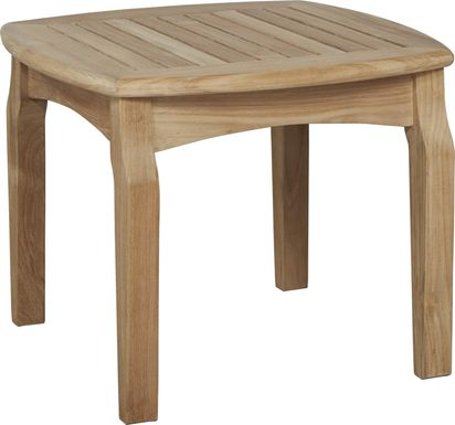 Pleasant Bay Teak Tan End Table