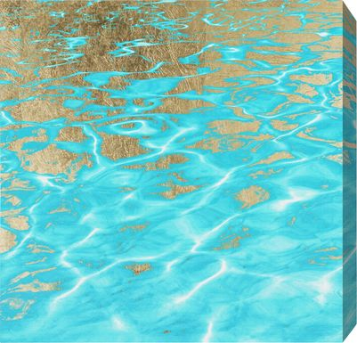 Pluto's Ocean Turquoise Artwork