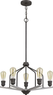 Pond Cove Bronze Chandelier