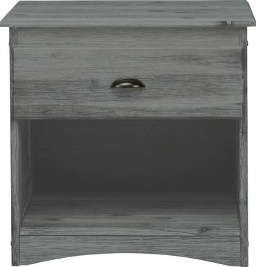 Kids Portside Gray Nightstand