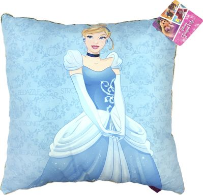 Princess Heart Strong Cinderella Pillow