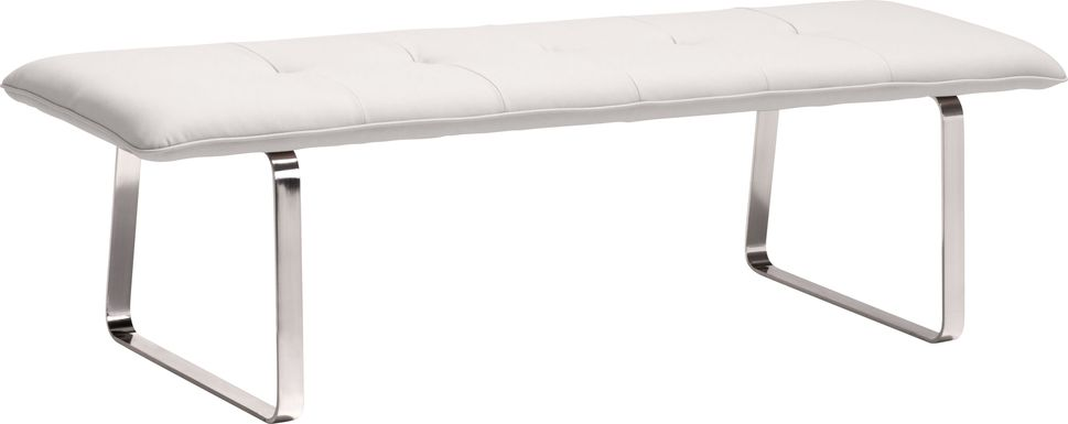 Prinses White Accent Bench