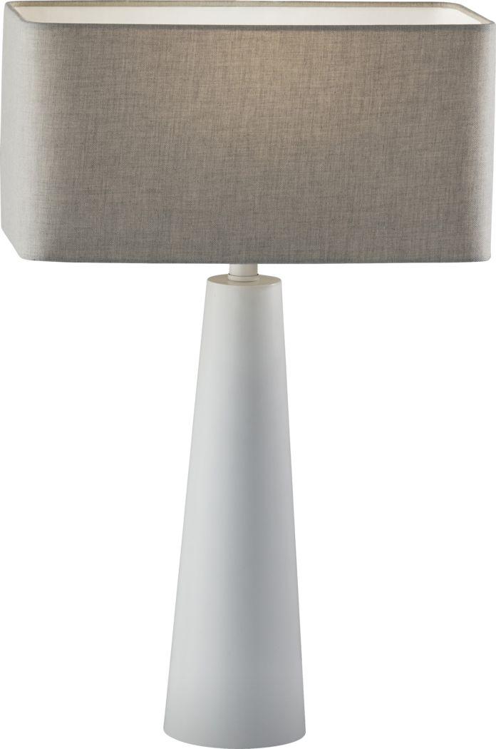 Quaker Lane White Lamp
