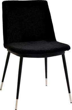Quannah Black Dining Chair, Set of 2
