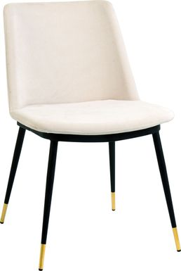 Quannah Ivory Dining Chair, Set of 2
