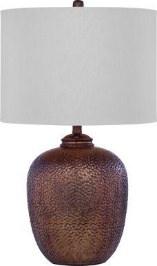 Quisenberry Copper Lamp