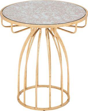 Radella Gold Accent Table