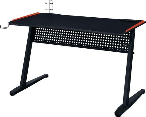 Raggley Black Computer Desk