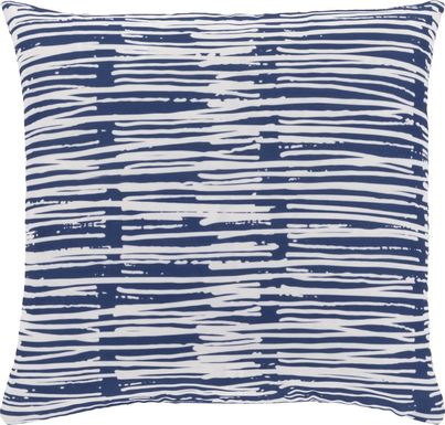 Raily Blue Accent Pillow