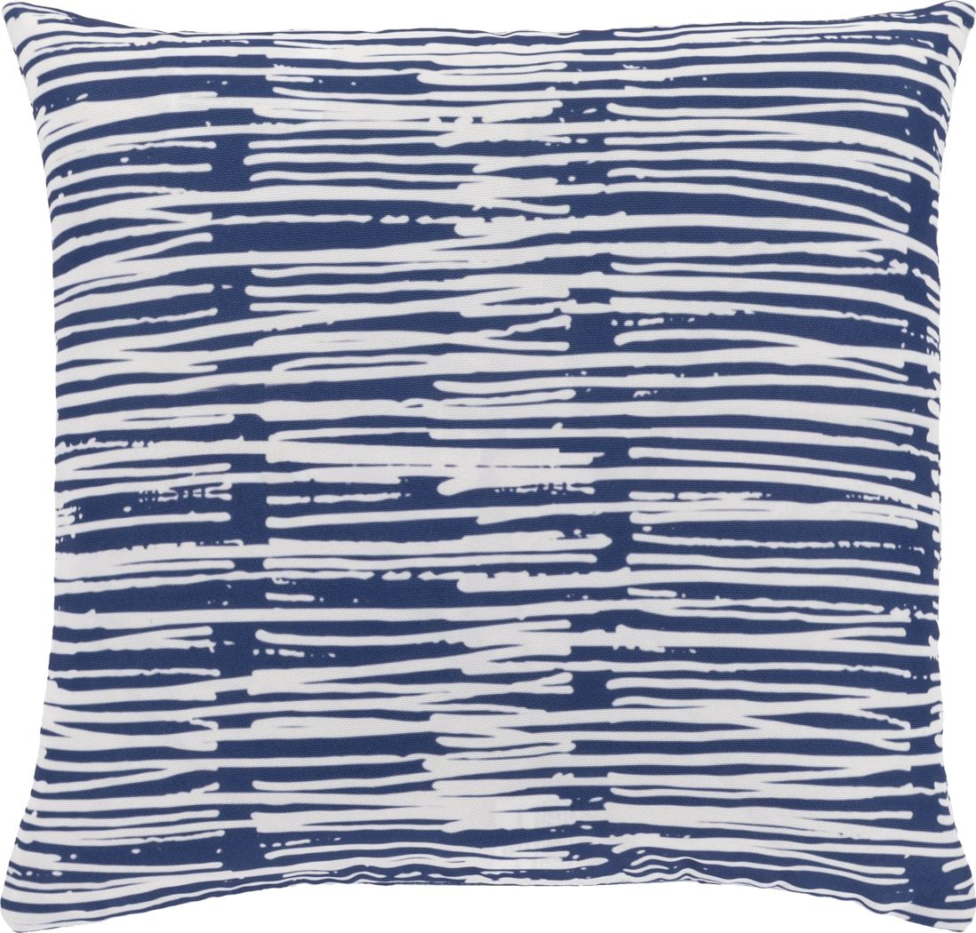 Raily Blue Accent Pillow