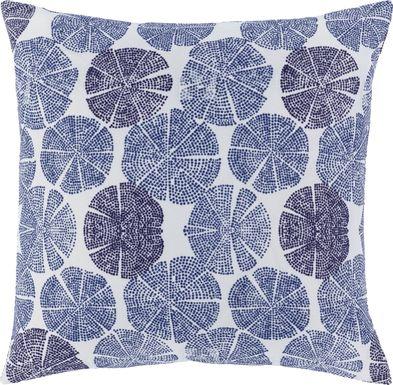 Raina Blue Accent Pillow