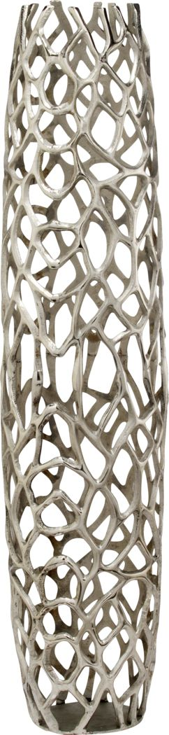 Rama Silver 40 in. Vase