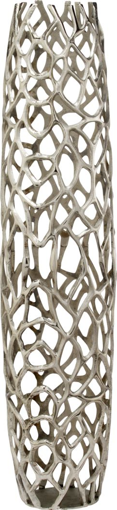 Rama Silver 47 in. Vase