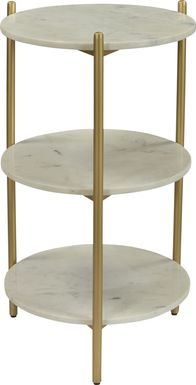 Ramera Gold Accent Table