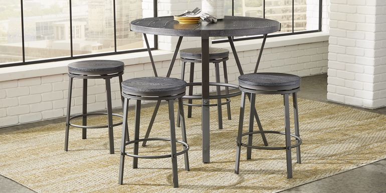 Ramona Gray 5 Pc Counter Height Dining Set