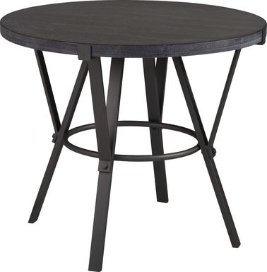 Ramona Gray Round Counter Height Dining Table