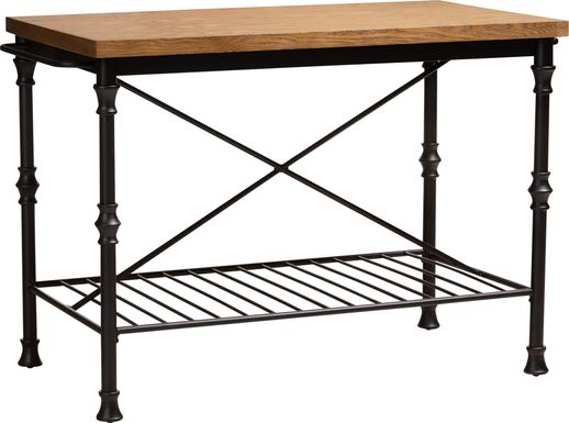 Ramsden Brown Bar Cart