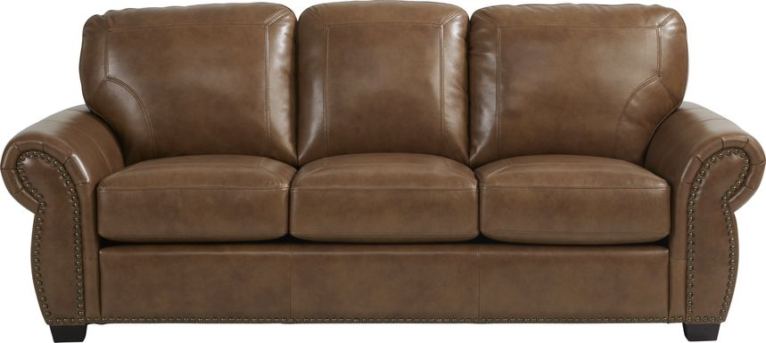 Rapallo Saddle Leather Gel Foam Sleeper