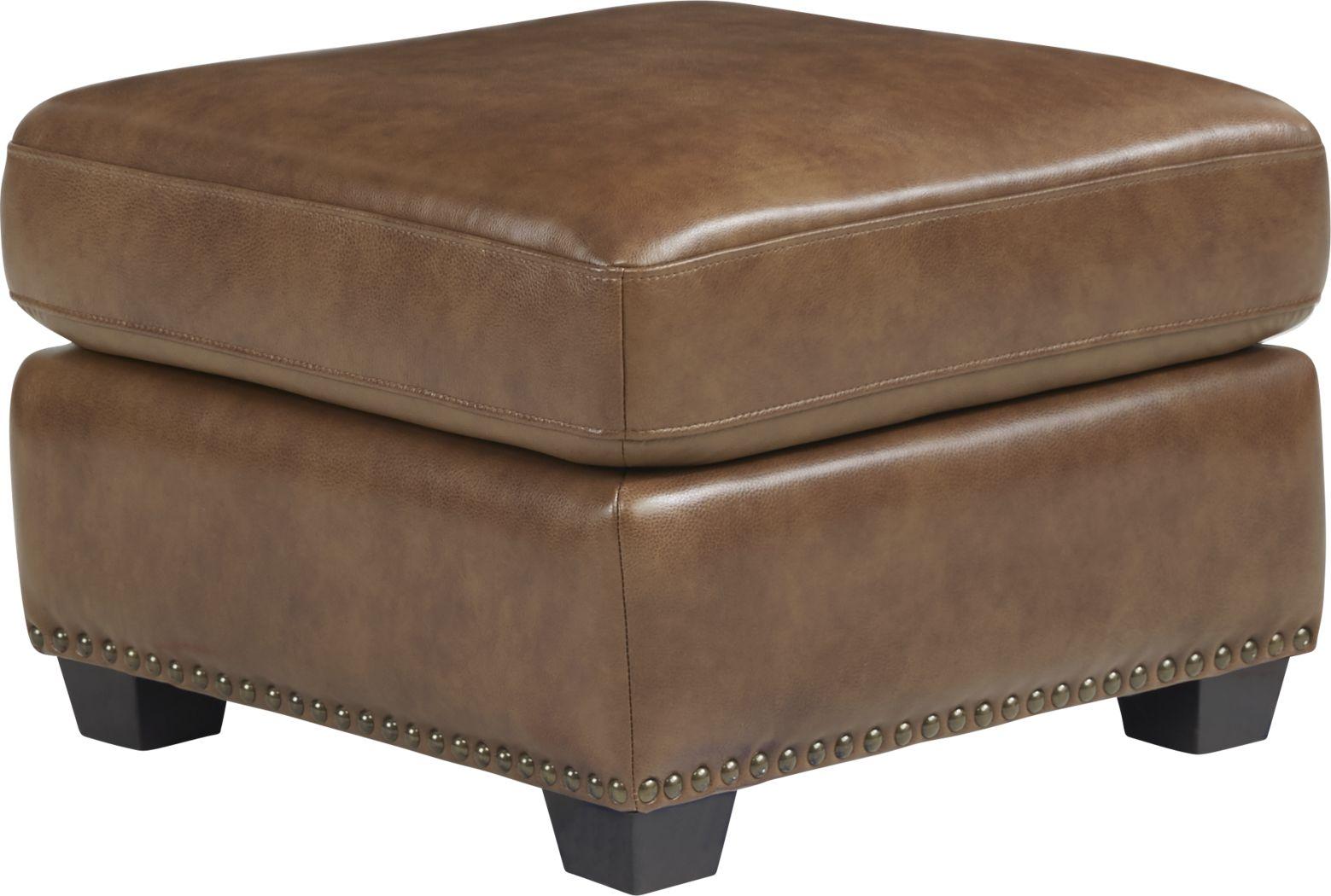 Rapallo Saddle Leather Ottoman
