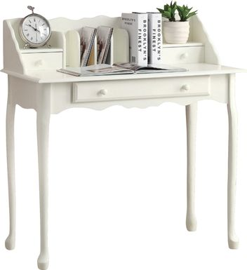 Ravendale White Desk