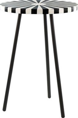Ravinger Black Accent Table