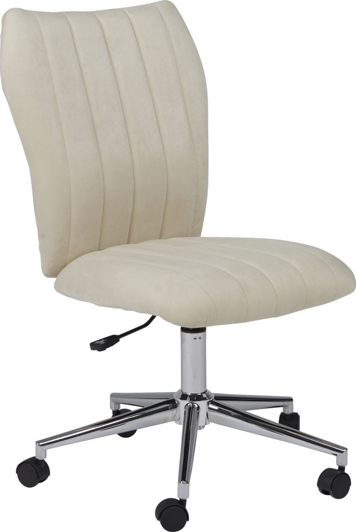 Kids Raylan Champagne Desk Chair