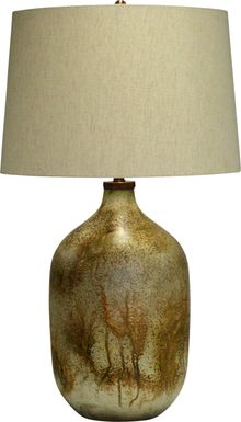 Redstone Run Bronze Lamp