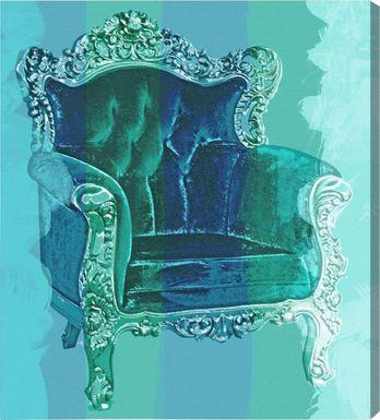 Regal Seat Blue Artwork