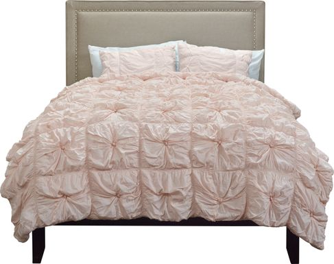 Reia Pink 3 Pc King Comforter Set