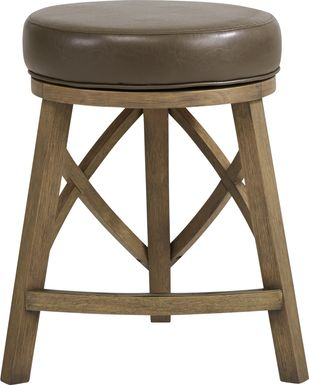 Relaira Sage Swivel Counter Height Stool