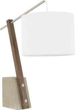 Restgate Walnut Lamp