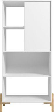 Ridgesmill White Bookcase