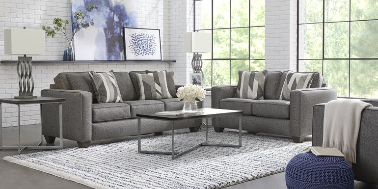 Ridgewater Graphite 7 Pc Living Room