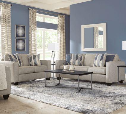 Ridgewater Light Gray 8 Pc Living Room