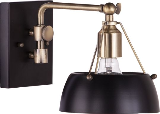 Ridgewyck Black Wall Sconce