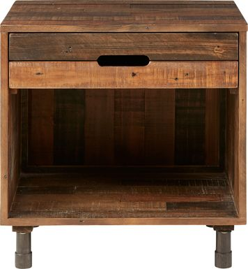 Rimstone Brown Nightstand