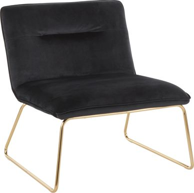 Ringsmith Black Accent Chair