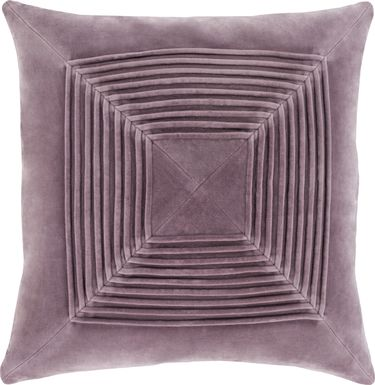 Ritah Mauve Accent Pillow