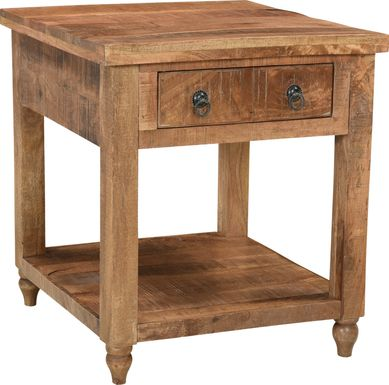 Ritner Brown End Table