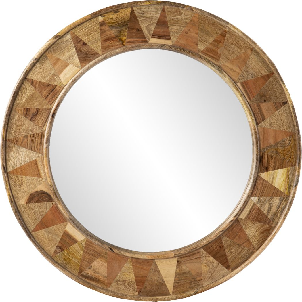 Ritterman Brown Mirror
