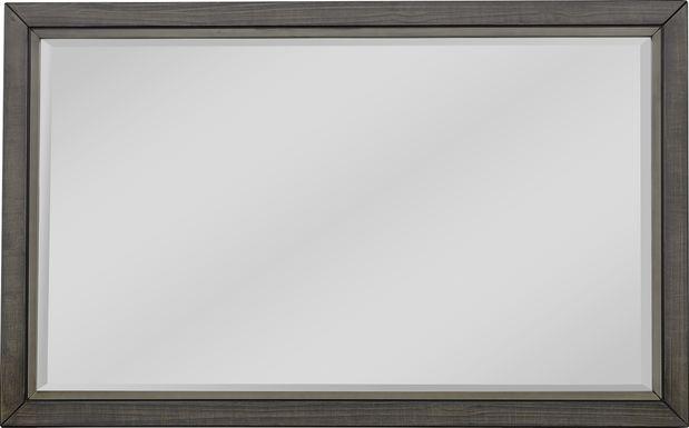 River Street Graphite Mirror